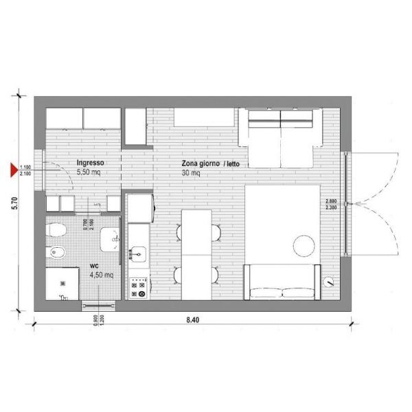 layout_2d_monolocale_gaia_idee_design